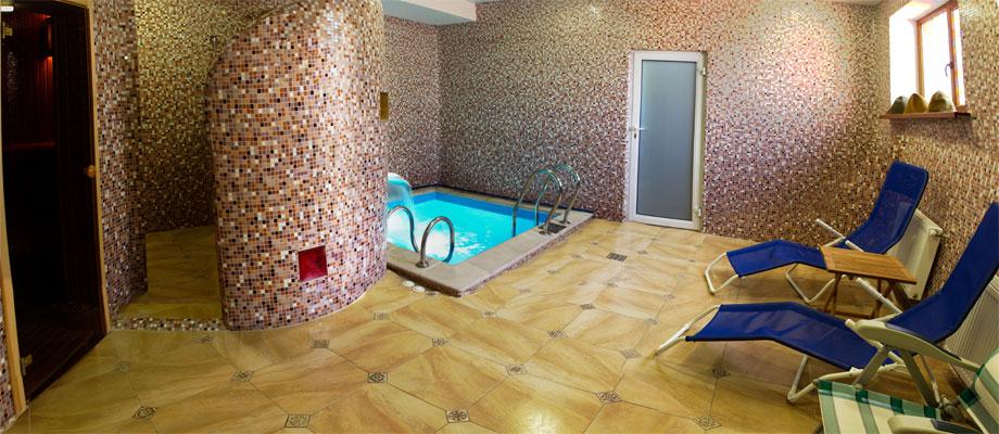 Термальный комплекс гостиницы в Харькове City Club